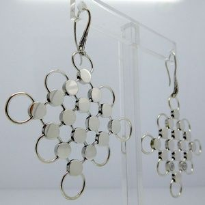 John Hardy Dot Earrings in Sterling Silver, LARGE